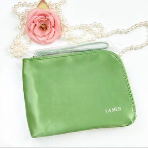 La Mer Zipper Makeup Cosmetic Bag